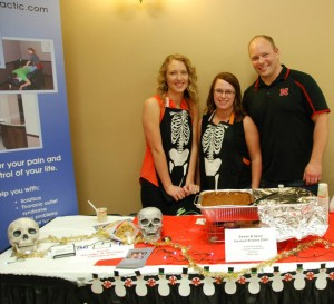Akridge Chiropractic at 2013 chili cook-off