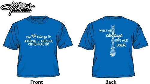 T-shirts for Heart Walk 2014