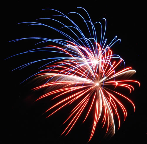 Akridge Chiropractic fireworks for 4th of July