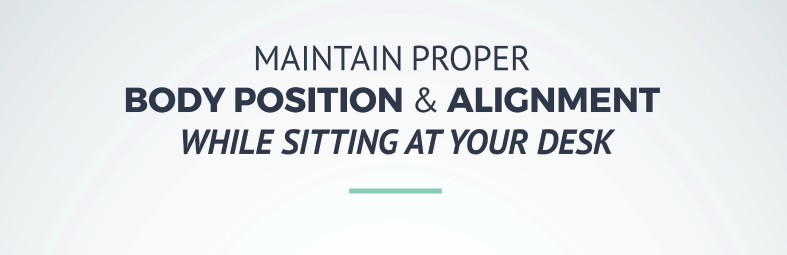 workstation body position reduces injury. Try Akridge & Akridge Chiropractic for pain relief.